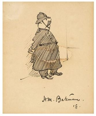 Lot 495 - Bateman (Henry Mayo, 1887-1970). The Policeman