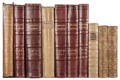 Lot 44 - Hodgson (John). A History of Northumberland, part 2 vols. 1-3 & part 3 vols. 1-3, Newcastle 1820-40