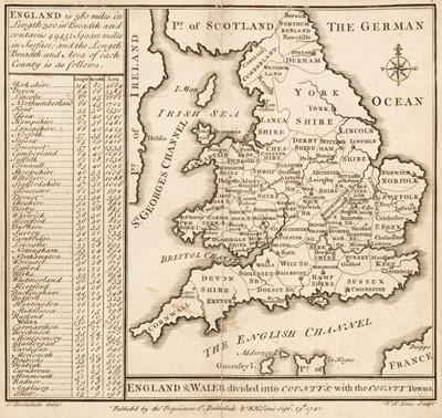 Lot 31 - Badeslade (Thomas & William Henry Toms). Chorographiae Britanniae, 1742