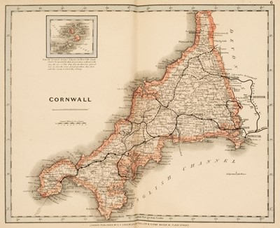 Lot 35 - Cruchley (G.F., publisher). Cruchley's County Atlas of England & Wales, 1875