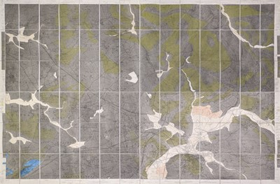 Lot 41 - Geological map. Geological Survey of England and Wales, Sheet 24, Yorkshire, 1857
