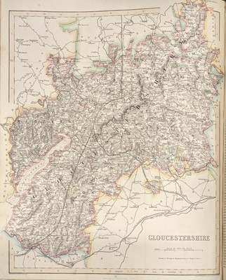 Lot 40 - Fisher, Son & Co. Fisher's County Atlas of England and Wales, [1845]