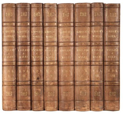 Lot 42 - Grose (Francis). The Antiquities of England and Wales, 8 vols., c.1797