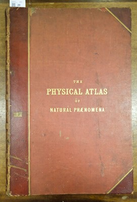 Lot 20 - Johnston (A. K.). The Physical Atlas of Natural Phenomena, 1856