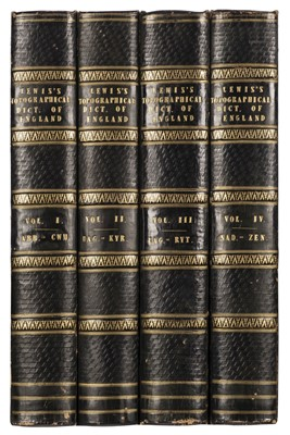 Lot 46 - Lewis (Samuel). A Topographical Dictionary of England, 4 volumes, 1831