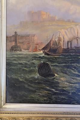 Lot 344 - English School, Scarborough 1892, oil on canvas