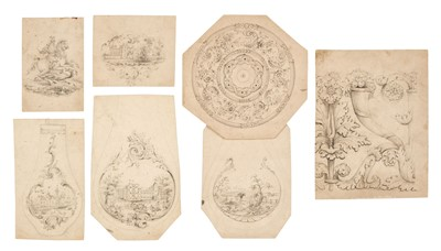 Lot 59 - Barnett (Edward, 1815-1894).  A collection of drawings for Nathaniel Mills of Birmingham