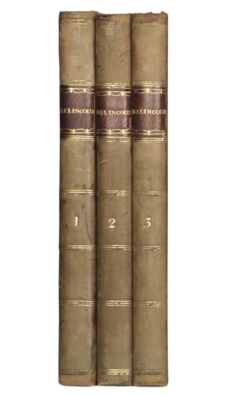 Lot 437 - Peacock (Thomas Love). Melincourt, 3 volumes, 1st edition, 1817