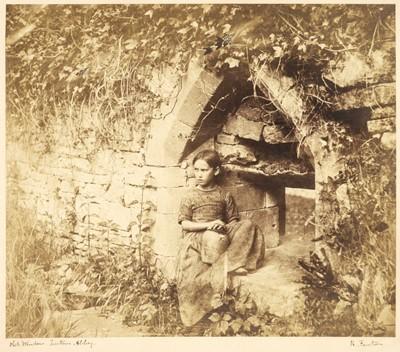 Lot 42 - Fenton (Roger, 1819-1869). A Small chapel in Tintern Abbey, 1854