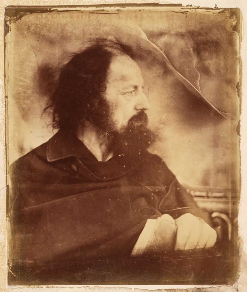Lot 12 - Cameron (Julia Margaret, 1815-1879). Alfred Tennyson as 'The Dirty Monk', 1865