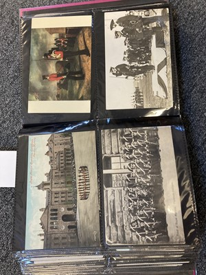 Lot 317 - Royal Marines. 200 early 20th century postcards