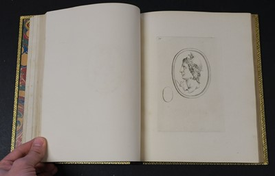 Lot 174 - Devonshire Gems. Duke of Devonshire's Collection of Gems, privately printed, circa 1790