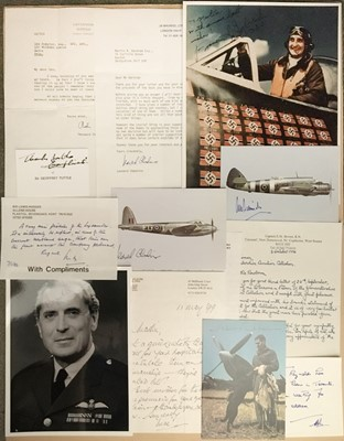 Lot 325 - World War II. A selection of signed postcards