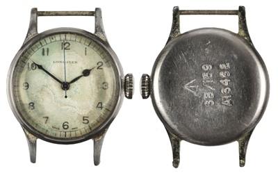 Lot 379 - Military Wristwatch. Longines Wristwatch