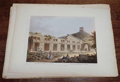 Lot 23 - Mayer (Luigi). A collection of 19 colour aquatint plates from Vues  dans L'Empire Ottoman, 1803