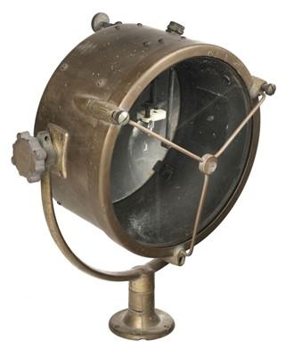 Lot 388 - Royal Navy Searchlight