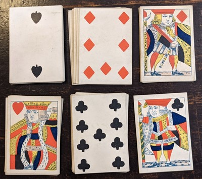 Lot 451 - Reynolds & Sons. A standard English deck of playing cards, circa 1840
