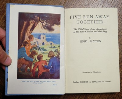 Lot 461 - Blyton (Enid). Famous Five books: seven 1st editions, all signed