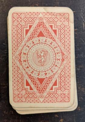 Lot 453 - Soviet Union. Literature & Theatre playing cards, circa 1910-1930