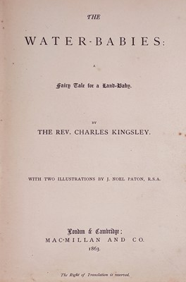 Lot 441 - Kingsley (Charles). The Water-Babies, 1st edition, 1863