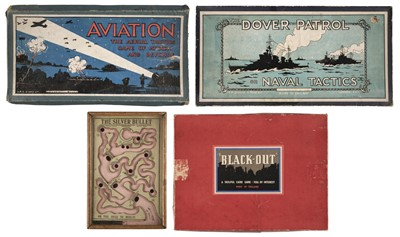 Lot 367 - Games. The Silver Bullet and other WWI games