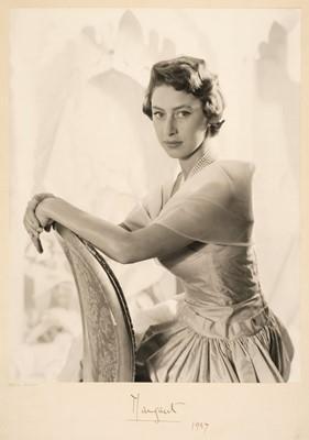 Lot 7 - Beaton (Cecil, 1904-1980). H.R.H. The Princess Margaret, 1955 & Queen Elizabeth II, 1952