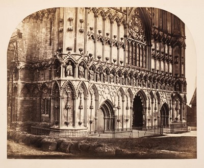 Lot 45 - Fenton (Roger, 1819-1869). Lichfield Cathedral