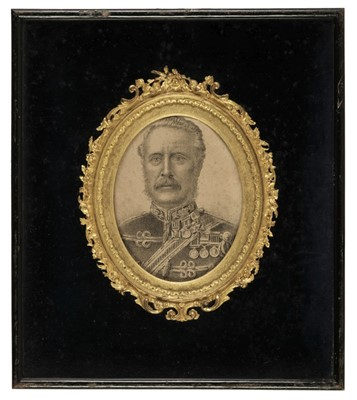 Lot 309 - Major General Gordon. Portrait Lithograph, circa 1890