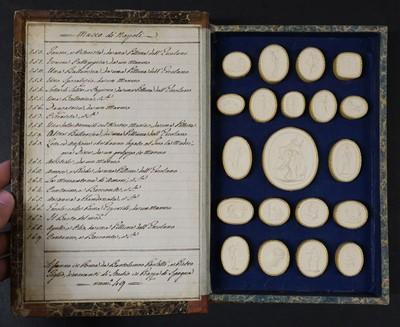 Lot 242 - Paoletti (Bartolomeo and Pietro). A collection of 300 plaster cameos, 1820