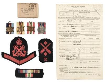 Lot 373 - HMS Orion, Medals, Tompion and Other Items