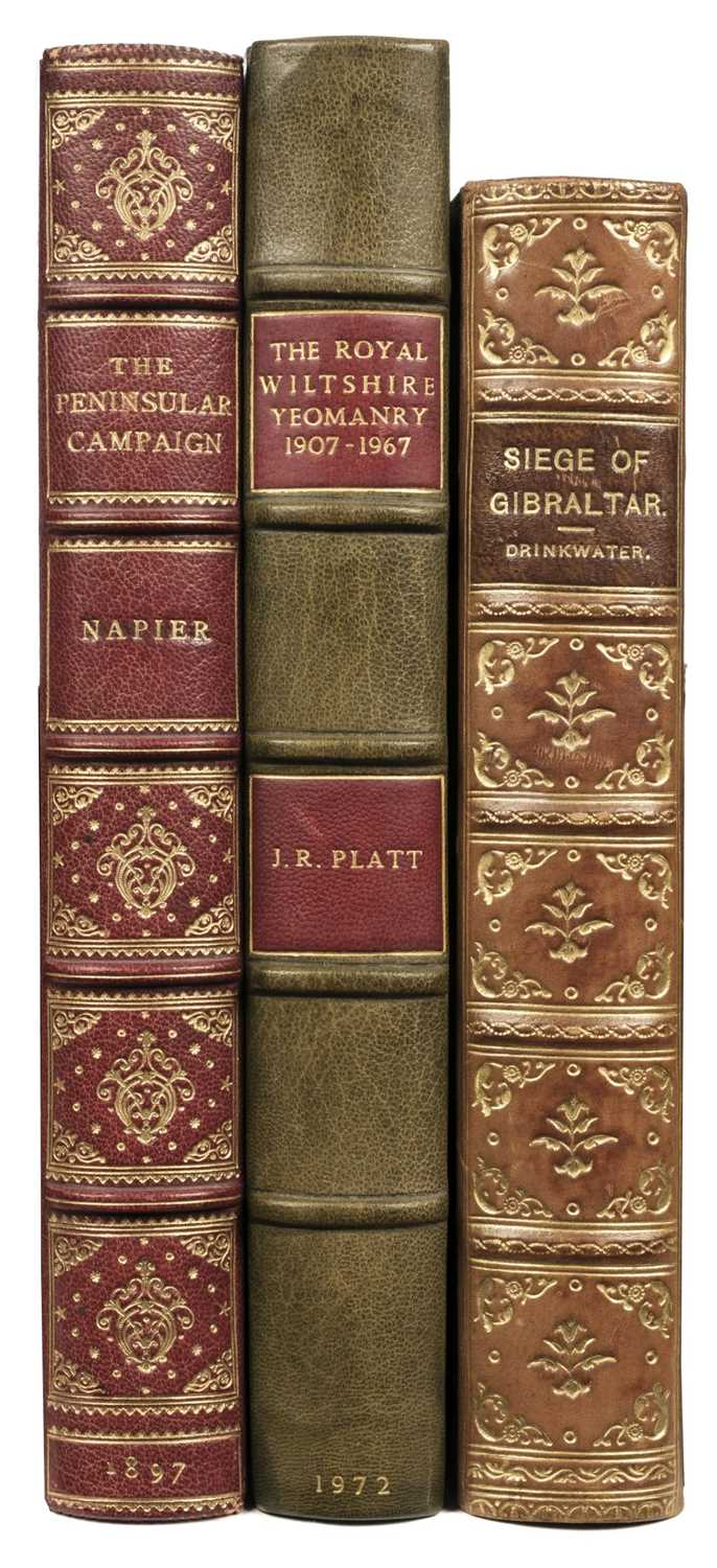 Lot 347 - Dobson (William T.) A narrative of the Peninsular Campaign, 1897