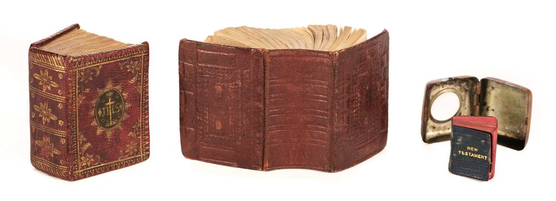 Lot 434 - Miniature Bible [English]. The Bible in Miniature..., London: E. Newbery, 1780