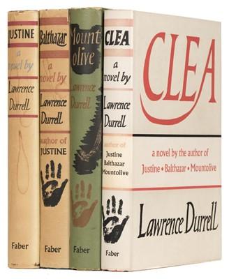 Lot 525 - Durrell (Lawrence). Alexandria Quartet. 1957-60