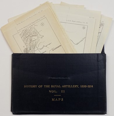 Lot 348 - Farndale (Martin). History of the Royal Regiment of Artillery,  6 volumes, 1986-2000
