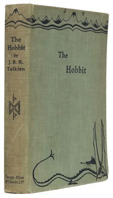 Lot 549 - Tolkien (J.R.R.) The Hobbit, 2nd impression, 1937
