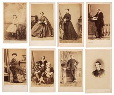 Lot 16 - Cartes de Visite. A group of approximately 700 mostly albumen print cartes de visite portraits
