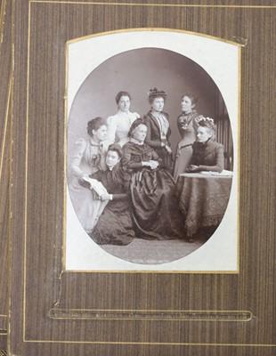 Lot 21 - Cartes de Visite. 17 Victorian albums, circa 1860s/1880s