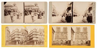 Lot 41 - European Stereoviews. A collection of approximately 200 steroviews