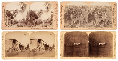 Lot 8 - Boer War. A group of approximately 220 stereoviews