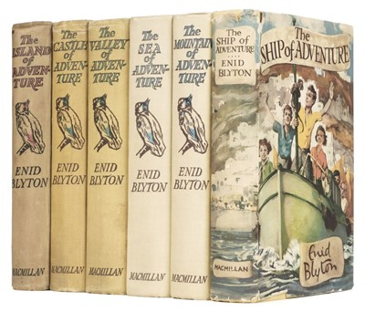 Lot 468 - Blyton (Enid). The Island of Adventure & 5 others, all 1st editions and signed