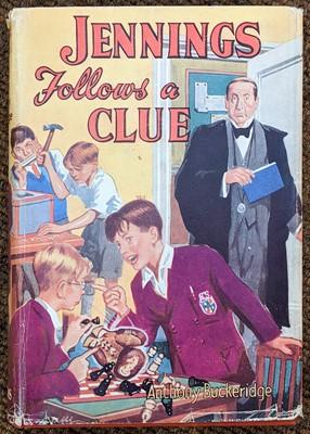 Lot 475 - Buckeridge (Anthony). Jennings Goes to School, 1st edition, 1950, & others