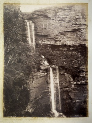 Lot 4 - Australia. An album of photographs of Australia and Tasmania