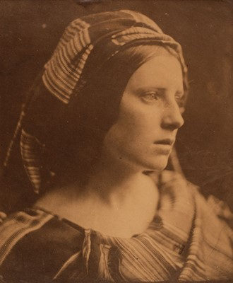 Lot 11 - Cameron (Julia Margaret, 1815-1879). A Study of The Cenci, c. 1870