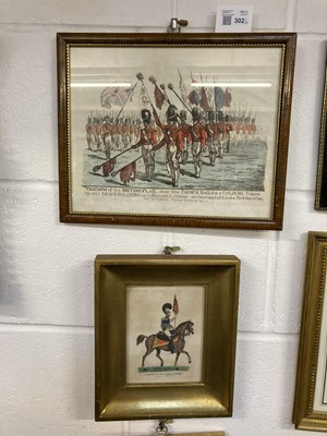Lot 302 - Military Prints. Dighton (Richard). Triumph of the British Flag over the French, 1811, etc (13)