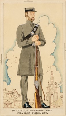 Lot 316 - Madeley (George E., 1798-1858). 42nd Royal Highlanders & 77nd Highlanders, circa 1840