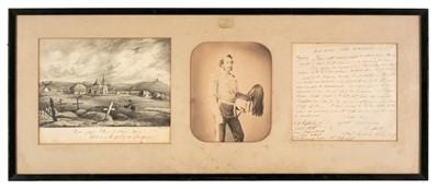 Lot 28 - Crimean War. Portrait of Captain Richard Surtees Sherwood
