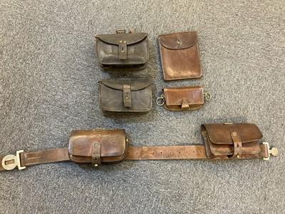 Lot 386 - Robin Hood Rifles Belt and Accoutrements