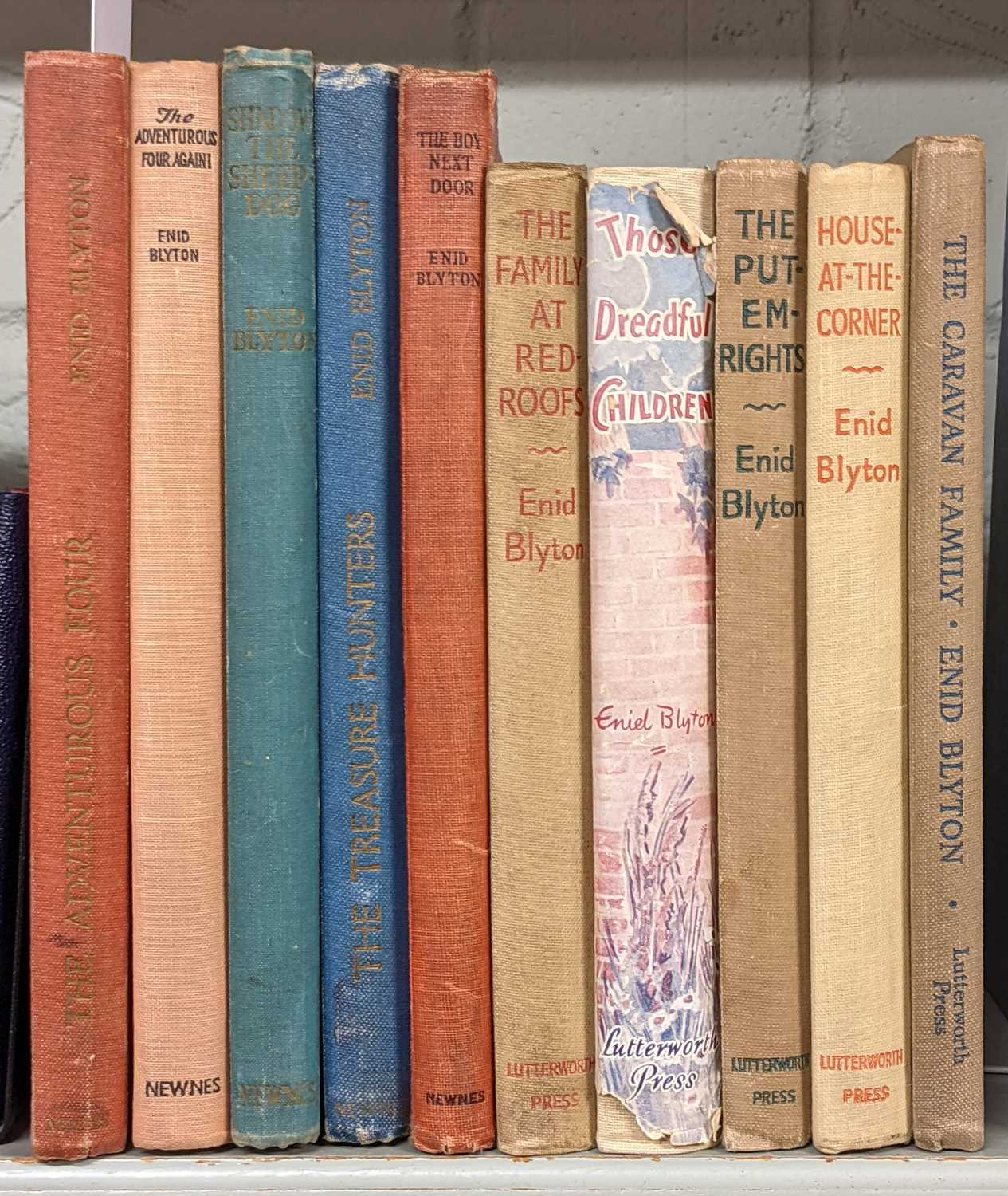 Lot 464 - Blyton (Enid). The Adventurous Four, and others, mixed editions, all signed