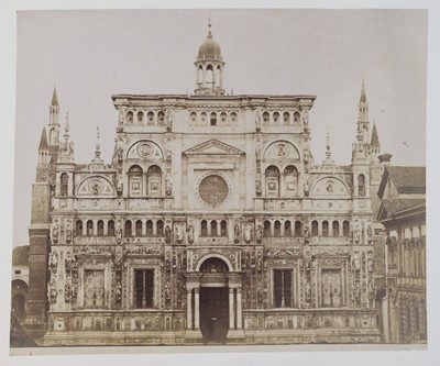 Lot 40 - European Architecture and Views. Approximately 80 mounted photographs of European architecture