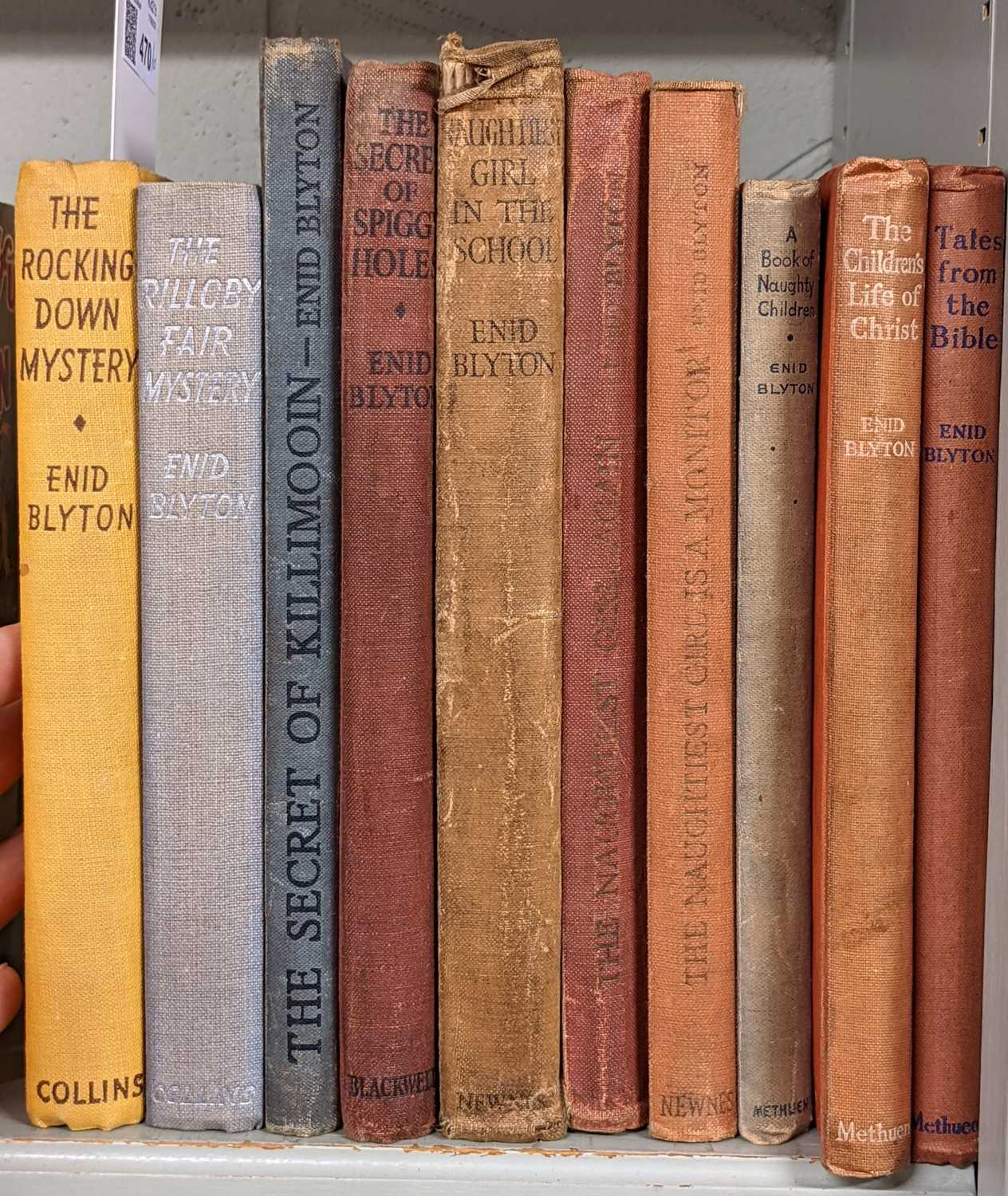 Lot 470 - Blyton (Enid). The Rockingdown Mystery, and others, mixed editions, all signed